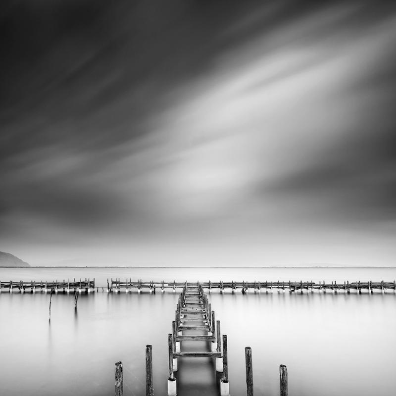 The Old Pier - George Digalakis alu dibond