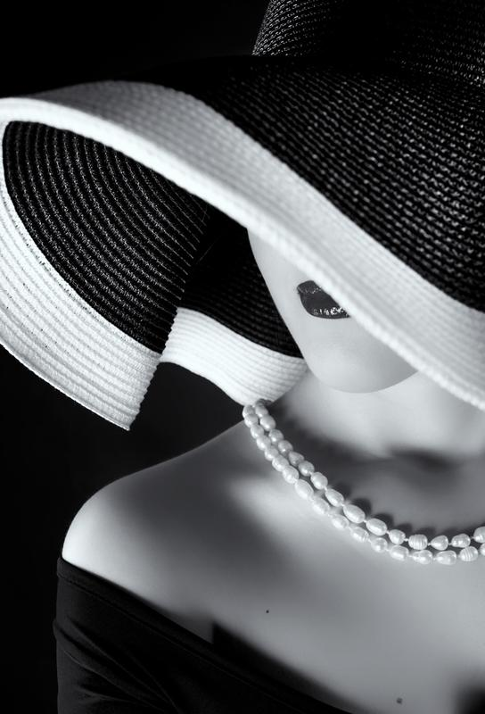 La femme au chapeau Acrylic Print