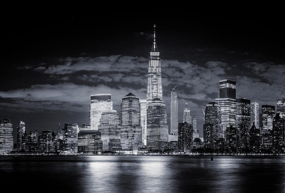 Gotham -Acrylglasbild