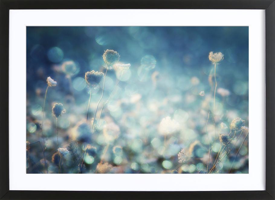 Diamonds - Stefan Eisele -Bild mit Holzrahmen