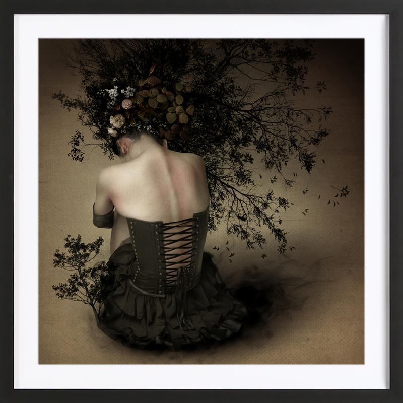 Night Scented Girl - Kiyo Murakami Framed Print