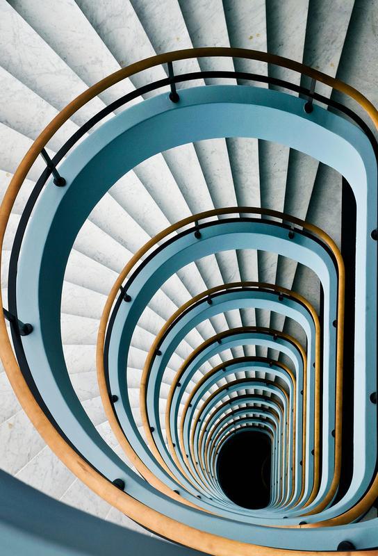 Black Hole - Jef Van den -Acrylglasbild
