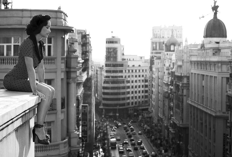 MAD Madrid - Alejandro Marcos -Acrylglasbild
