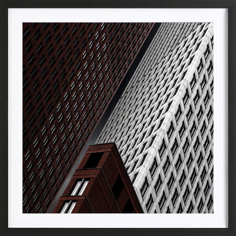 In Tribulation - Gilbert Claes -Bild mit Holzrahmen