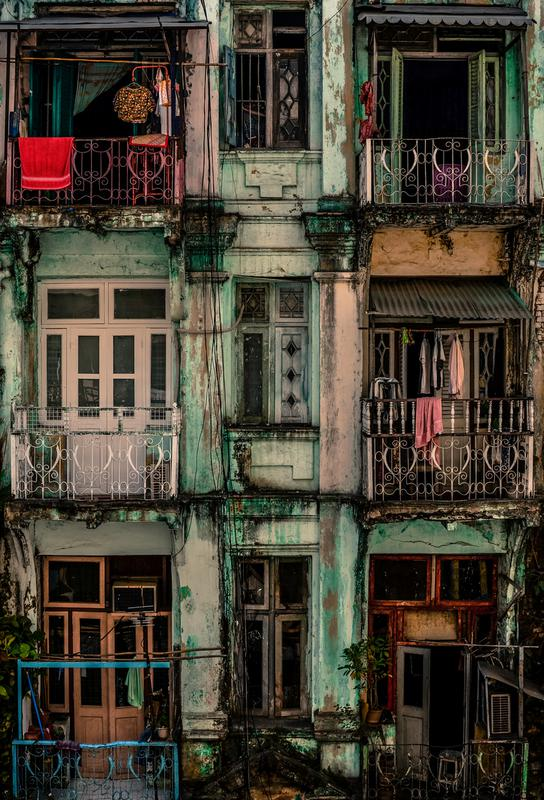 Remnants of Another Era - Marcus Blok tableau en verre