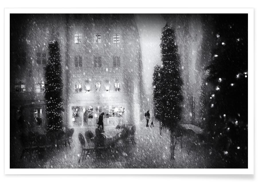 Christmas In the City - Roswitha Schleicher-Schwarz poster