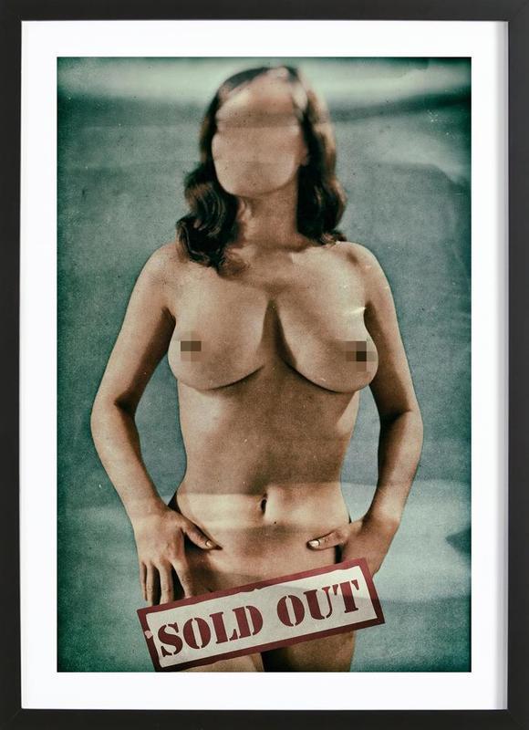 Sold Out Framed Print