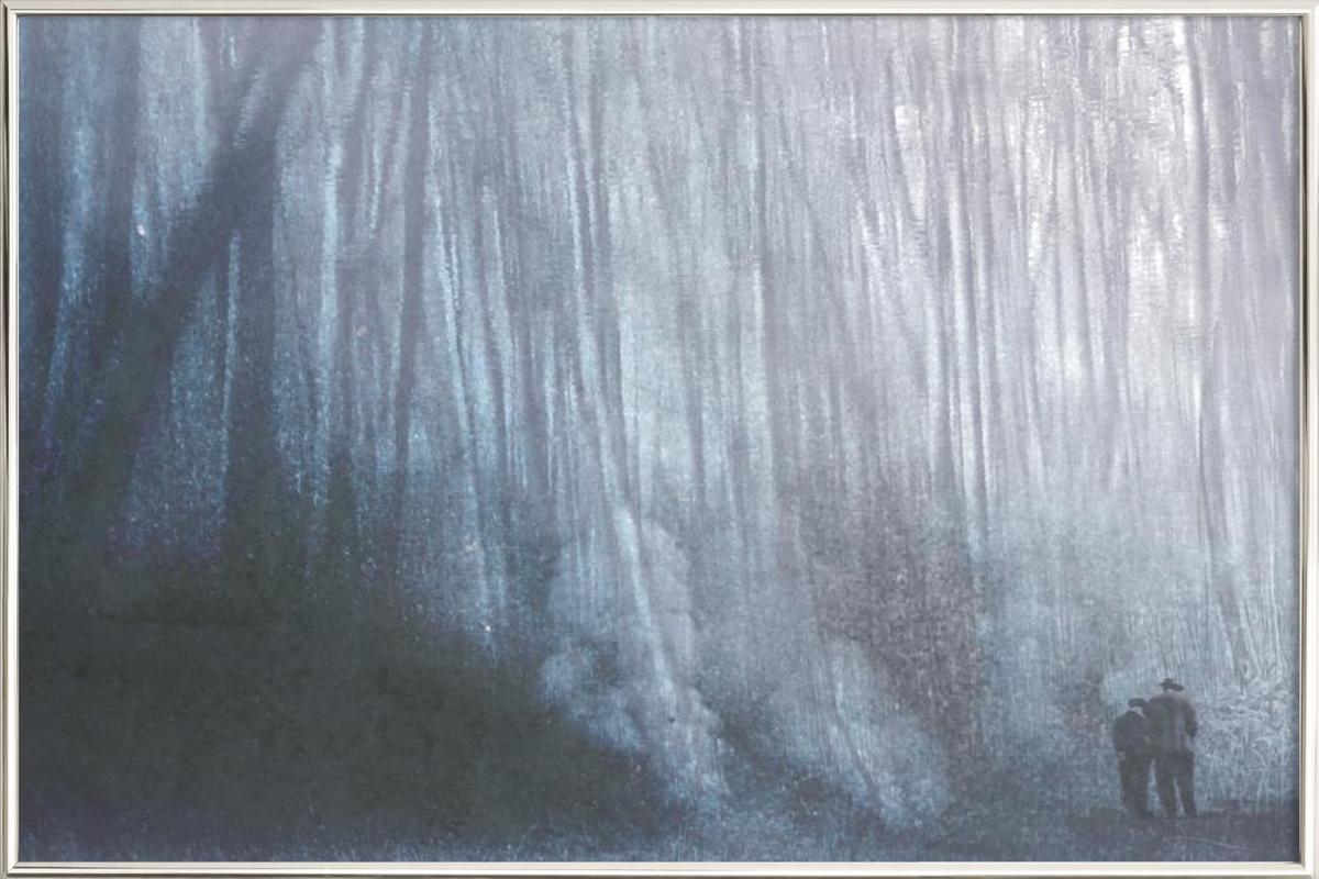 Forrest Poster im Alurahmen