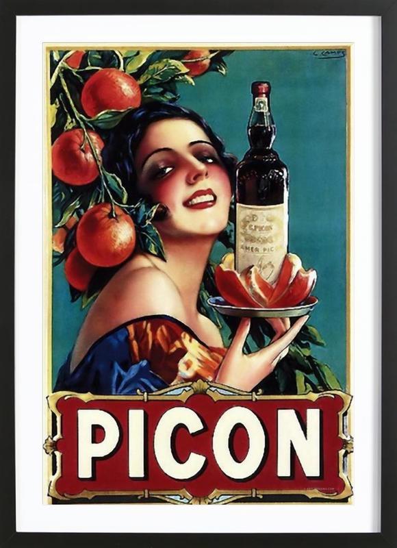 Picon Liquor ingelijste print