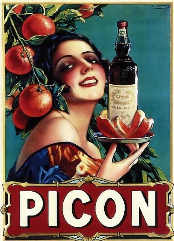 Picon Liquor canvas doek