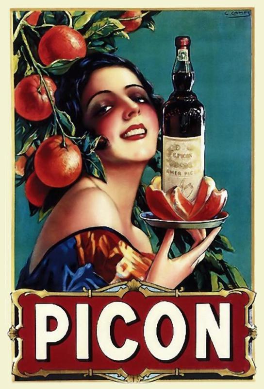 Picon Liquor Acrylic Print