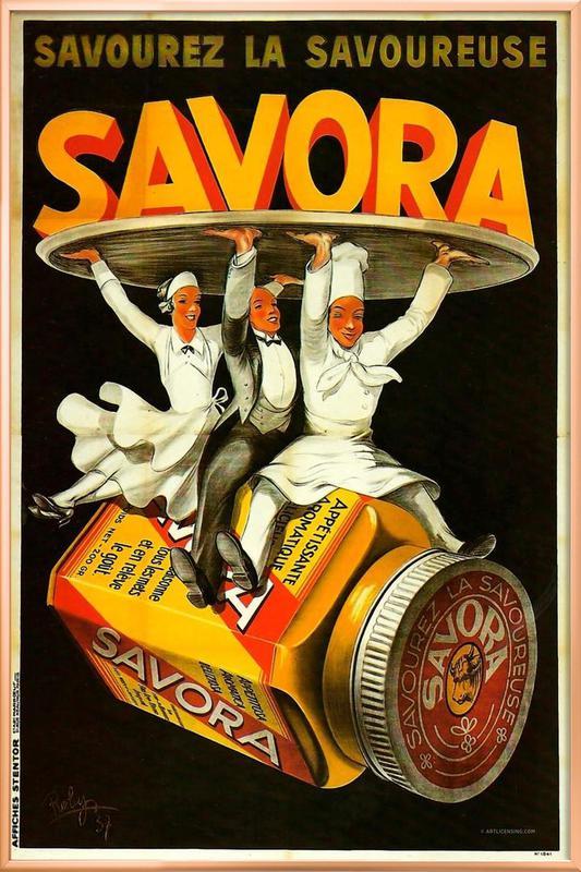 Savora Waiters Poster im Alurahmen   Dekoration > Bilder und Rahmen > Poster   Mehrfarbig