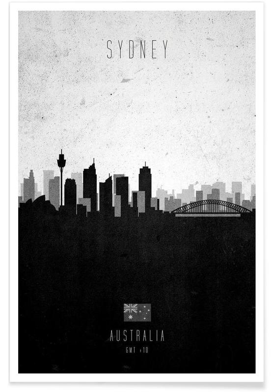 Sydney Contemporary Cityscape Poster