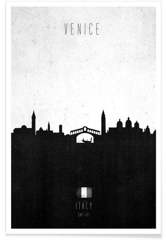 Venice Contemporary Cityscape affiche