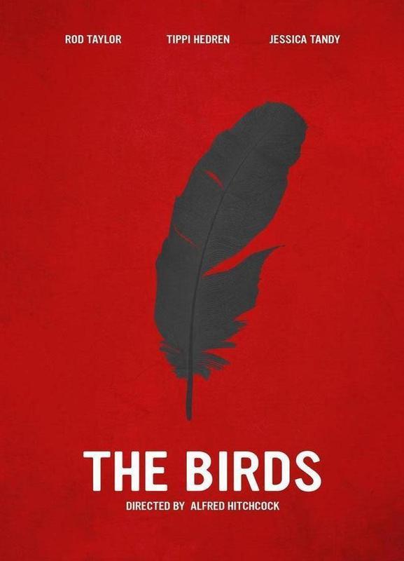 The Birds -Leinwandbild