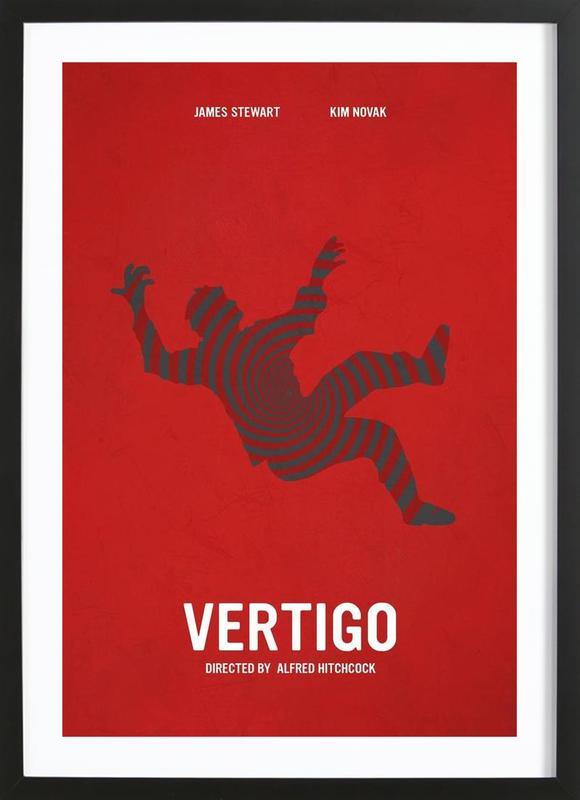 Vertigo -Bild mit Holzrahmen