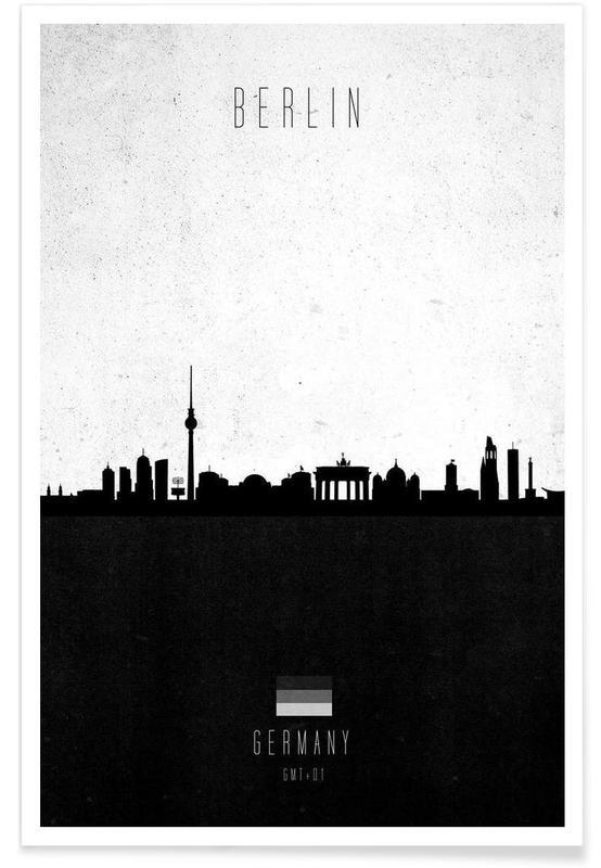 Berlin Contemporary Cityscape affiche