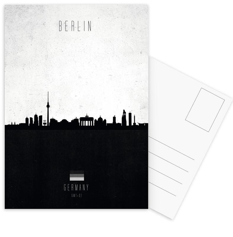 Berlin Contemporary Cityscape Postcard Set