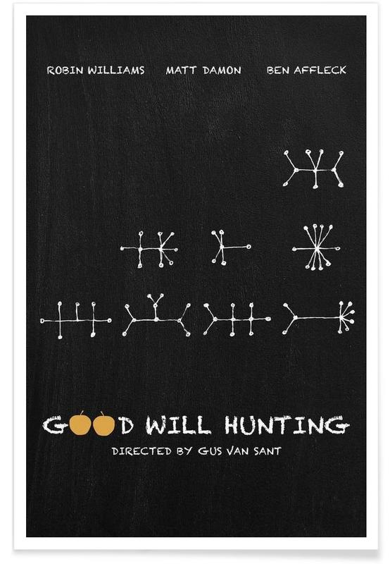Good Will Hunting affiche