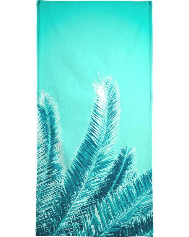 Green Palm Trees serviette de bain