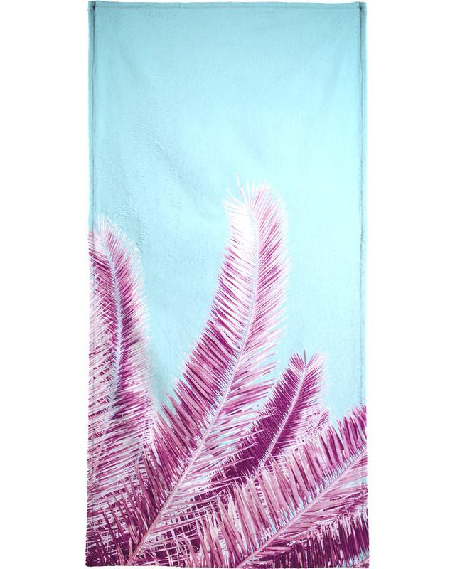 Pink Palm Trees -Handtuch
