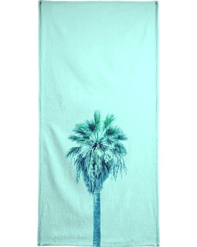 Green Sabal Palmetto -Handtuch