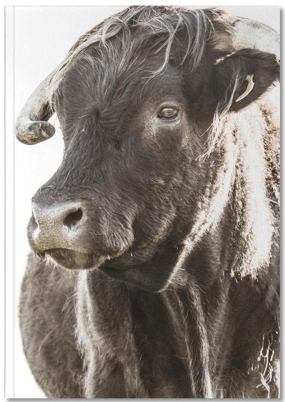 Bulls Head ll Notebook