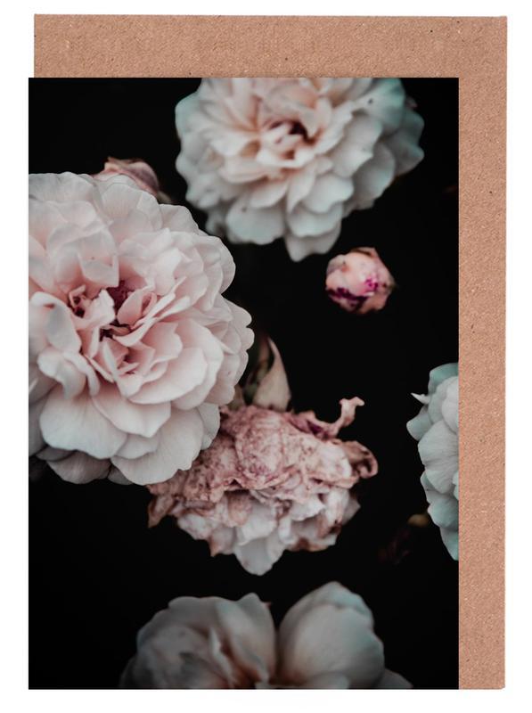 Crisp Pink Greeting Card Set