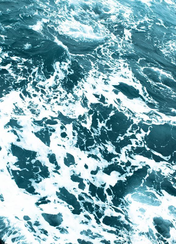 Ocean Blue Leinwandbild