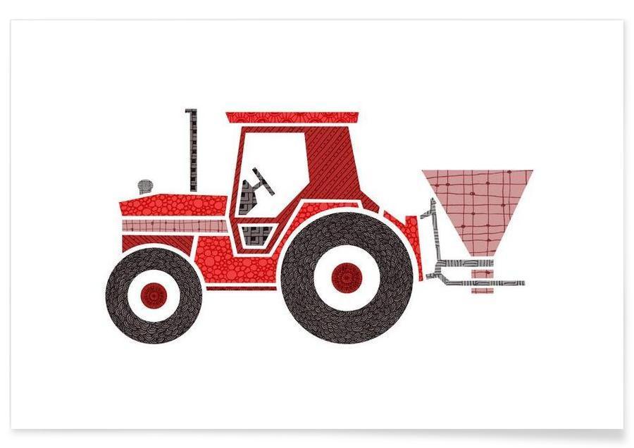 Traktor Poster