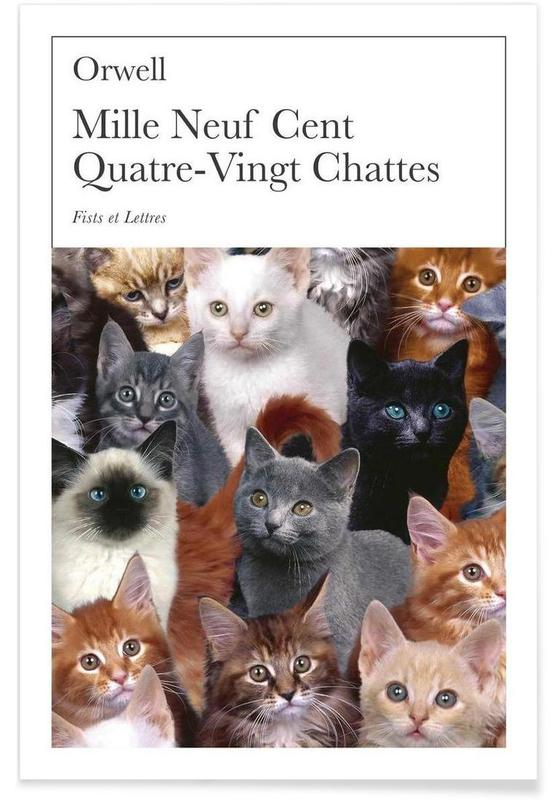 1980 Chattes Premium Poster