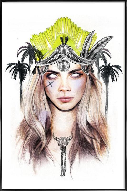 Queen Cara Framed Poster