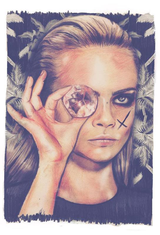 Diamond Acrylglasbild | Dekoration > Bilder und Rahmen > Bilder | Mehrfarbig | Aluminium