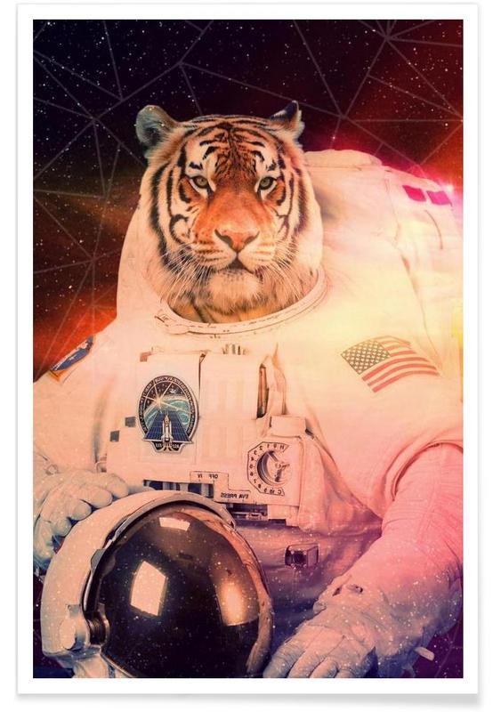 Astrotiger -Poster