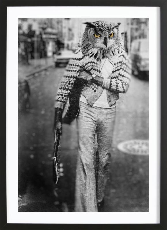 Owl Man Framed Print