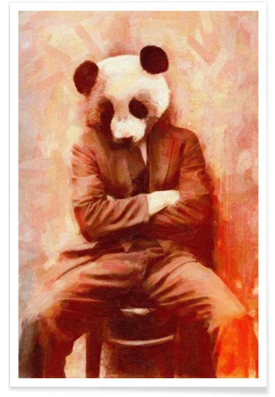 Sad Panda poster
