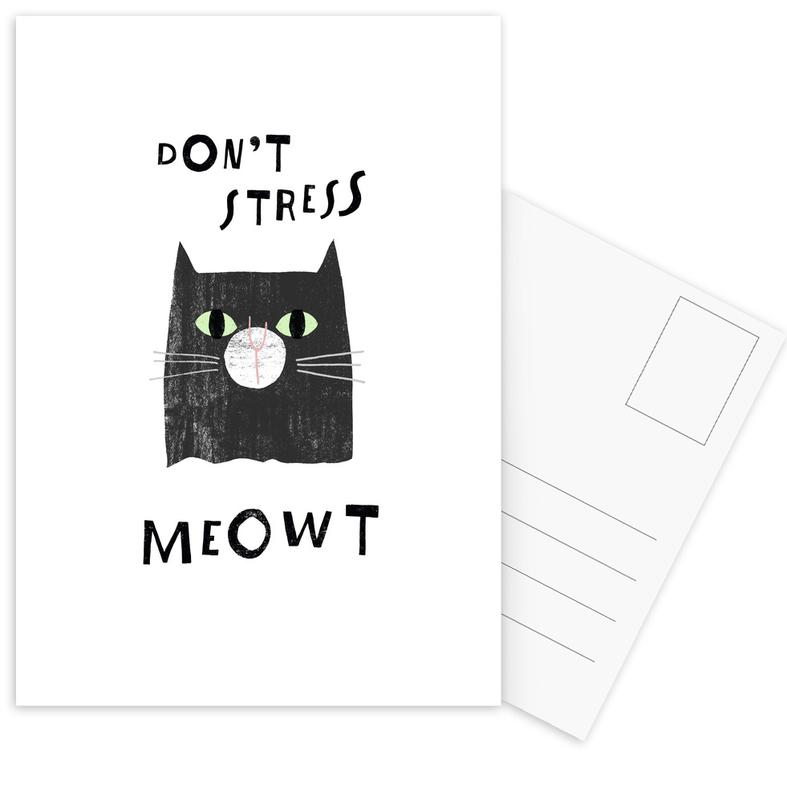 Catisfaction 7 cartes postales