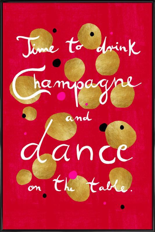 Dance ingelijste poster