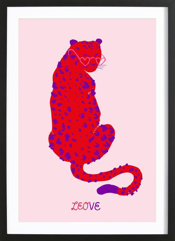 Leove Framed Print