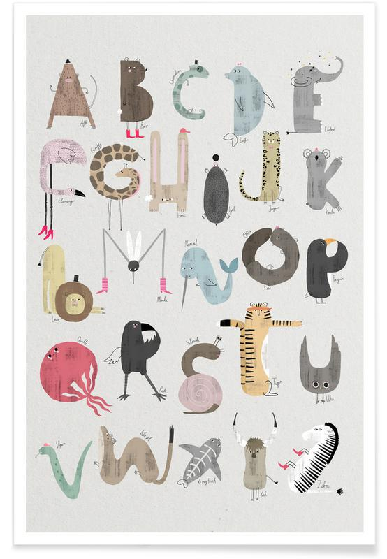 ABC Kids Plakat