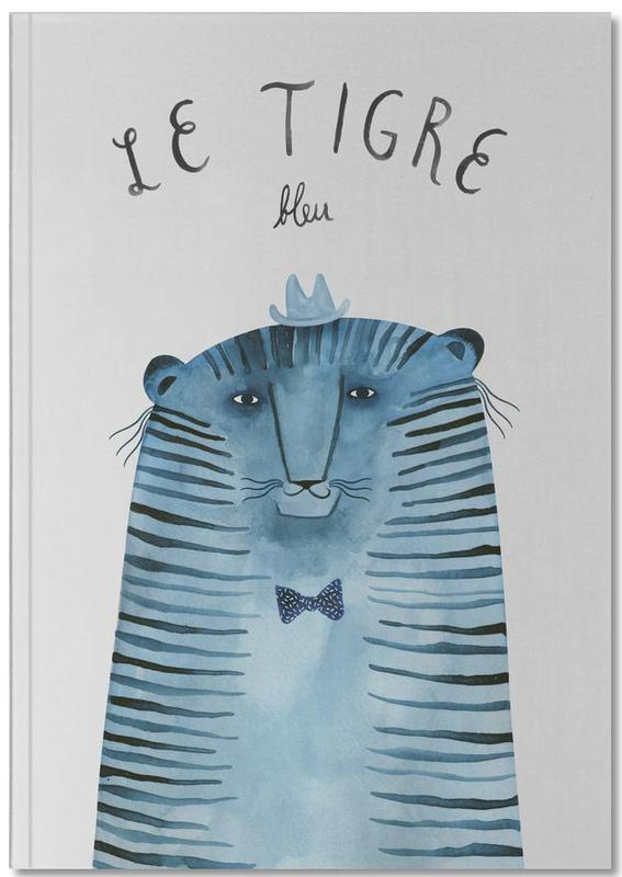 French Animals Tigre Notebook