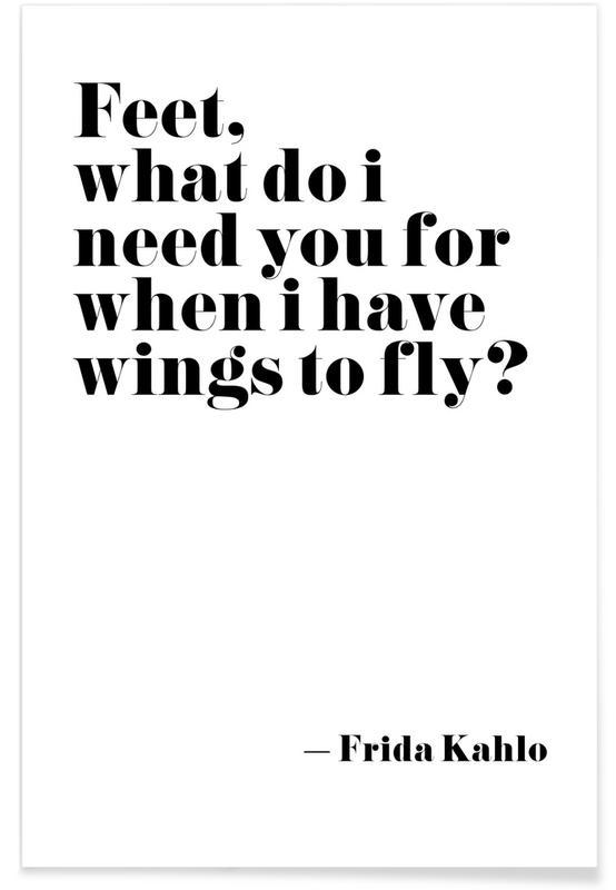 Frida Says Plakat