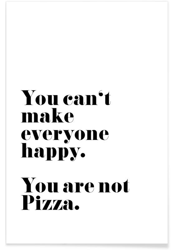 Pizza póster