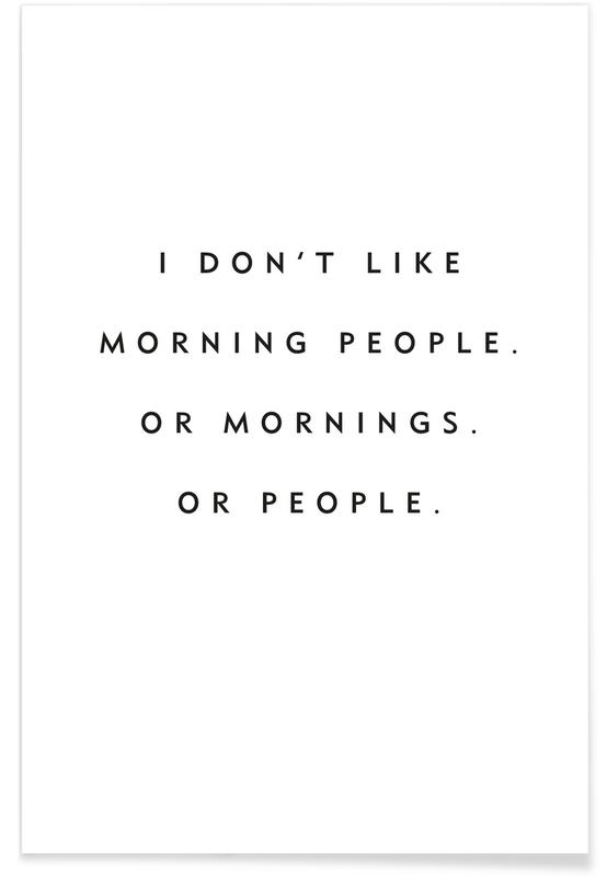 Morning People Poster