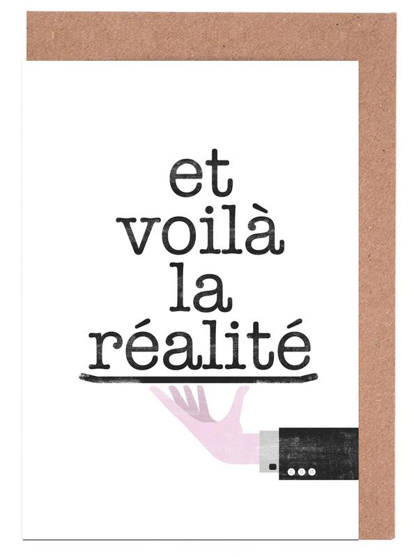Réalité Greeting Card Set