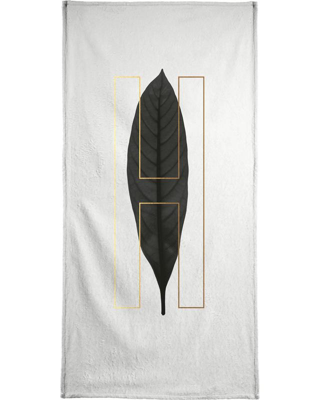 Plants H Bath Towel