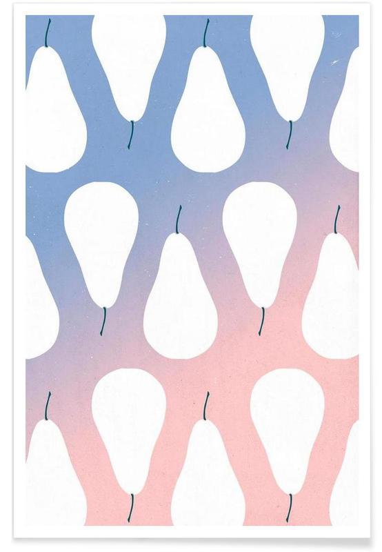 Pears Premium Poster | Dekoration > Bilder und Rahmen > Poster | Mehrfarbig