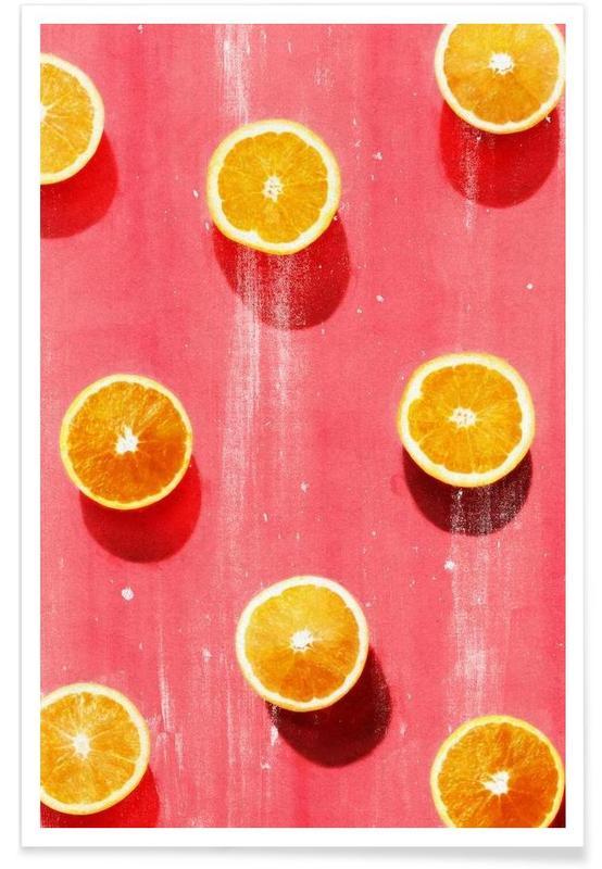 Fruit 5 leemo poster