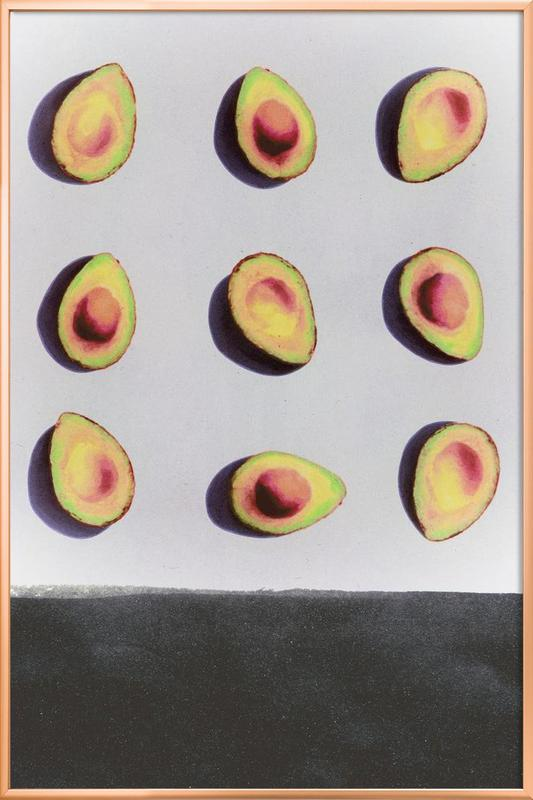 Fruit 2 poster in aluminium lijst