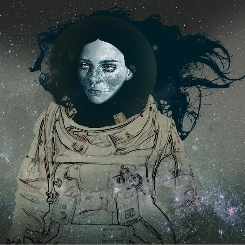 Astronaut 1 Aluminium Print